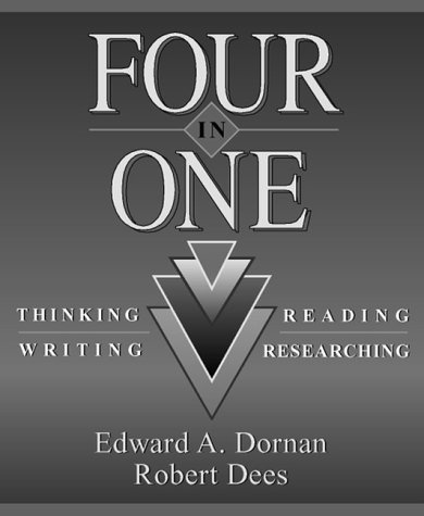 9780205152803: Four in One: Thinking, Reading, Writing, Researching