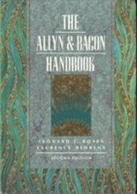 9780205153275: The Allyn & Bacon Handbook