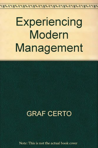 9780205153527: Experiencing Modern Management
