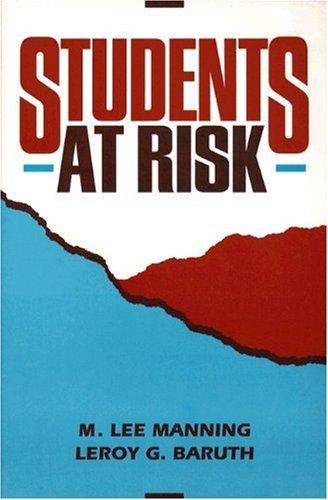 Students At Risk: M. Lee Manning,