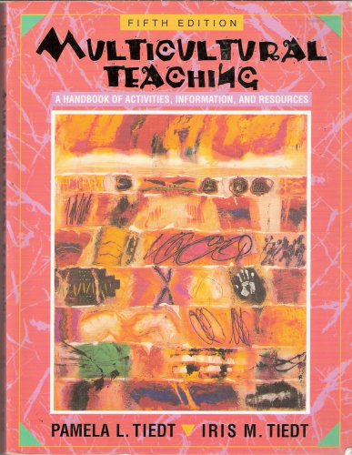 9780205154883: Multicultural Teaching: A Handbook of Activities, Information, and Resources