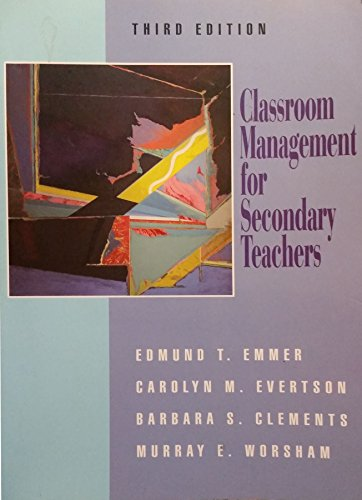 9780205154906: Classroom Management Secondary Teachers