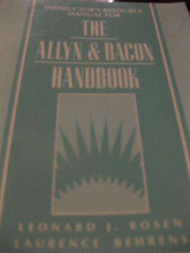 9780205155644: The Allyn & Bacon Workbook