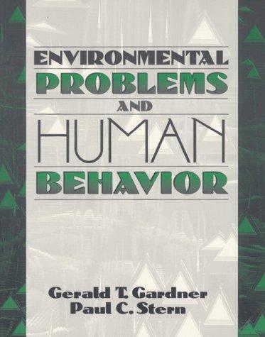9780205156054: Environmental Problems and Human Behavior