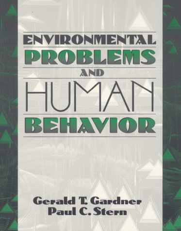 9780205156054: Environmental Problems and Human Behavior