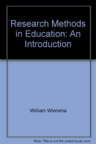 9780205156542: Research Methods in Education: An Introduction