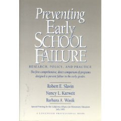 9780205156849: Preventing Early School Failure: Research, Policy, and Practice