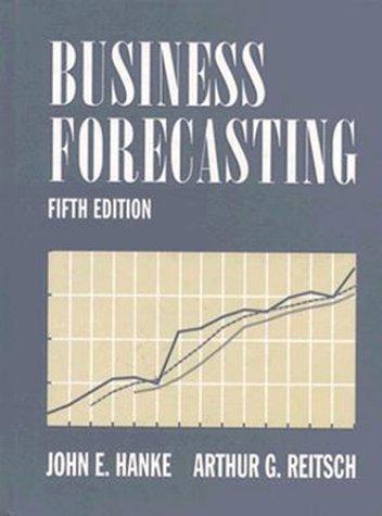 9780205160051: Business Forecasting