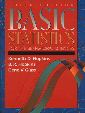 9780205160860: Basic Statistics for the Behavioral Sciences (3rd Edition)
