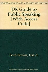 9780205161041: DK Guide to Public Speaking with MySpeechLab