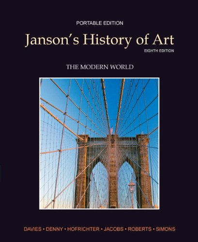 9780205161157: Janson's History of Art: The Modern World (Portable Edition, Book 4), 8th Edition