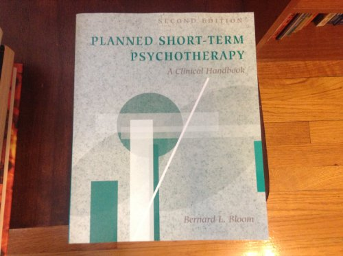 9780205161553: Planned Short-Term Psychotherapy: A Clinical Handbook