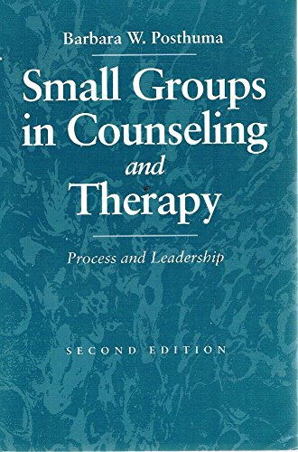 9780205161690: Small Groups in Counseling and Therapy: Process and Leadership