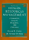 Human Resources Management: Perspectives, Context, Functions, and: Buckley, M. Ronald
