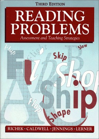 9780205163885: Reading Problems: Assessment and Teaching Strategies