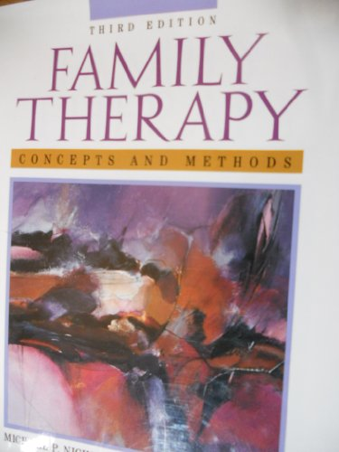 9780205163953: Family Therapy: Concepts and Methods
