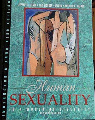 9780205164073: Human Sexuality in a World of Diversity