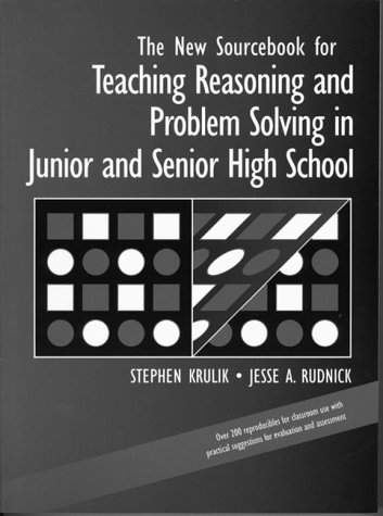 9780205165209: New Sourcebook for Teaching Reasoning and Problem Solving in Junior and Senior High School, The