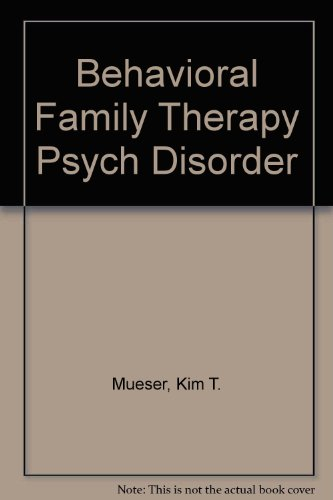 9780205166534 behavioral family therapy psych disorder abebooks