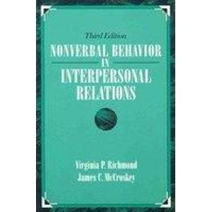 9780205167449: Nonverbal Behavior in Interpersonal Relations