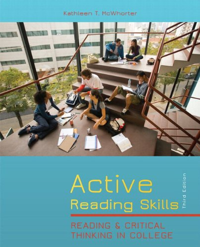 9780205167746: Active Reading Skills: Reading and Critical Thinking in College (with MyReadingLab with Pearson eText Student Access Code Card) (3rd Edition)