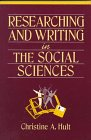9780205168415: Researching and Writing in the Social Sciences