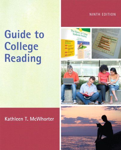 9780205170166: Guide to College Reading (with MyReadingLab with Pearson eText Student Access Code Card) (9th Edition)
