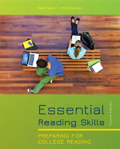 9780205170173: Essential Reading Skills: Preparing for College Reading [With Access Code]