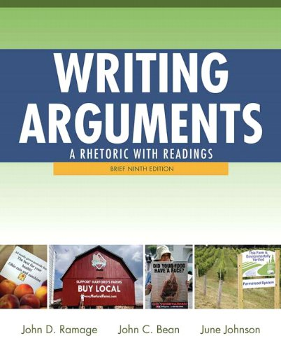 9780205171569: Writing Arguments: A Rhetoric with Readings, Brief Edition (9th Edition)