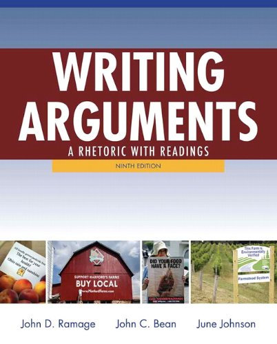 9780205171637: Writing Arguments: A Rhetoric with Readings (9th Edition)