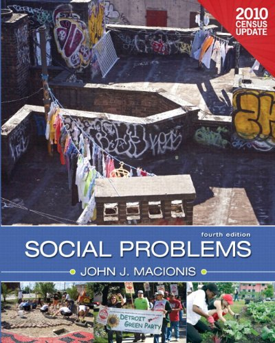 9780205172313: Social Problems, Census Update Plus MySocLab with eText -- Access Card Package (4th Edition)