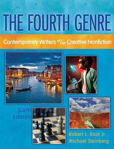 9780205172771: Fourth Genre, The: Contemporary Writers of/on Creative Nonfiction (6th Edition)