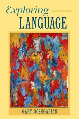 9780205172863: Exploring Language (13th Edition)
