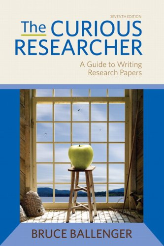 9780205172870: The Curious Researcher (7th Edition)
