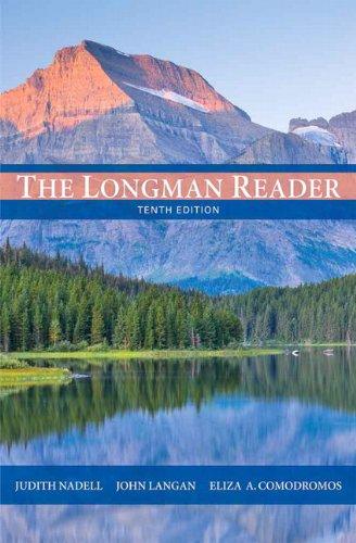 9780205172894: The Longman Reader (10th Edition)