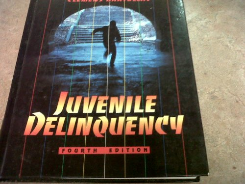 Juvenile Delinquency (0205174418) by Bartollas, Clemens