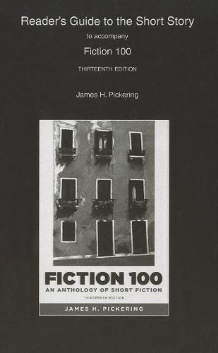 9780205175475: Reader's Guide to the Short Story to Accompany Fiction 100: An Anthology of Short Fiction