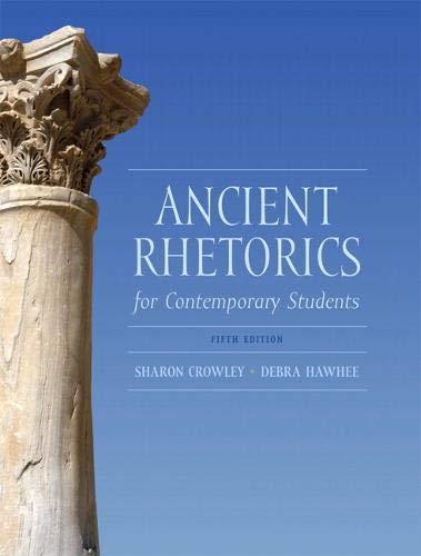 9780205175482: Ancient Rhetorics for Contemporary Students