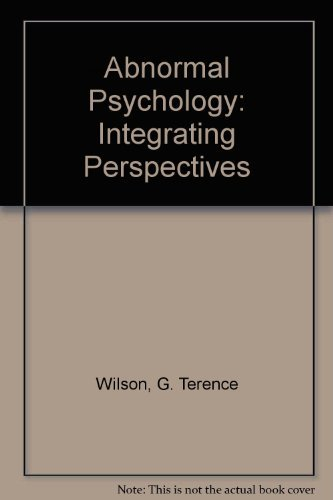 9780205175796: Abnormal Psychology: Integrating Perspectives