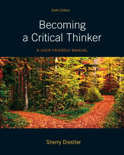 9780205176038: Becoming a Critical Thinker: A User-Friendly Manual Plus MyThinkingLab with eText -- Access Card Package (6th Edition) (MyThinkingLab Series)
