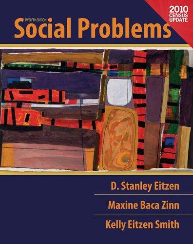 9780205179862: Social Problems, Census Update, Books a la Carte Edition (12th Edition)
