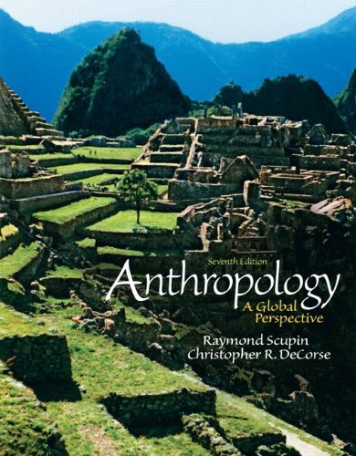 9780205181025: Anthropology: A Global Perspective (7th Edition)