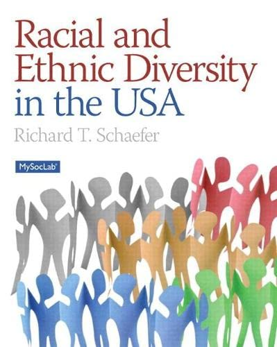 Racial and Ethnic Diversity in the USA: SCHAEFER