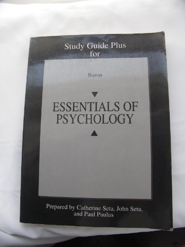 9780205185412: Study Guide Plus for Baron's ESSENTIALS OF PSYCHOLOGY