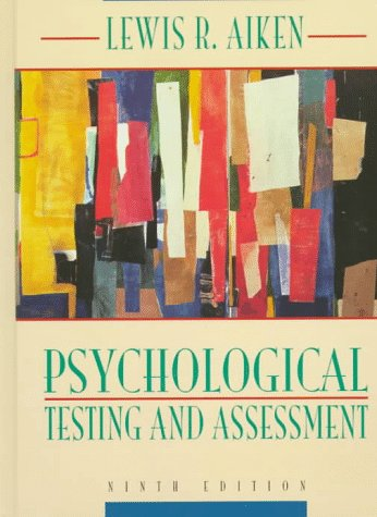 9780205186792: Psychological Testing and Assessment