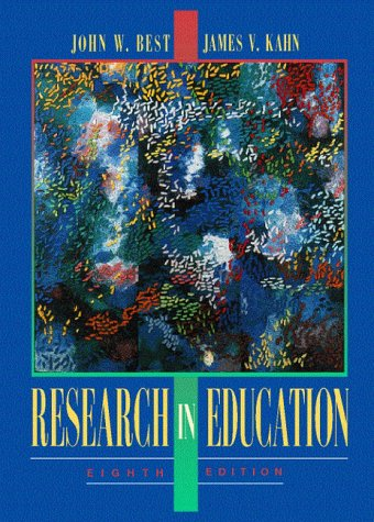 9780205186976: Research in Education (8th Edition)