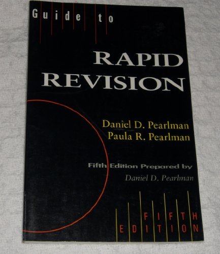 9780205187393: Guide to Rapid Revision