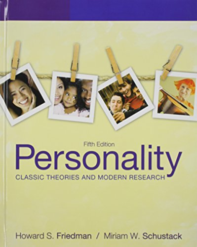 9780205188369: Personality: Classic Theories and Modern Research, Personality Reader, The, and MyPsychKit (5th Edition)