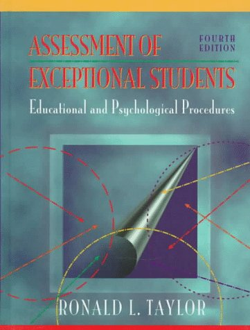 9780205188598: Assessment of Exceptional Students: Educational and Psychological Procedures