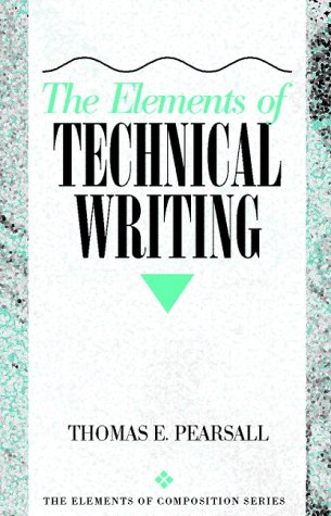9780205188956: The Elements of Technical Writing